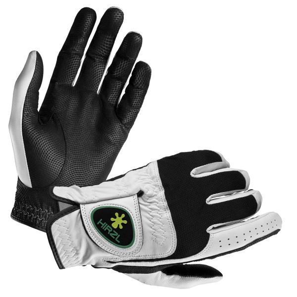 Hirzl Handschuh Trust Control, weiß/schwarz
