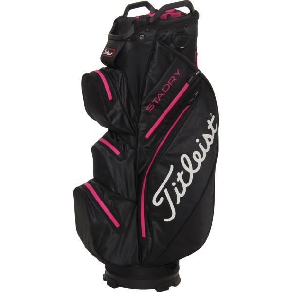 Titleist Cartbag StaDry Sport schwarz/pink