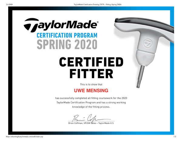 TaylorMade-Certification-Training-TCP-Fitting