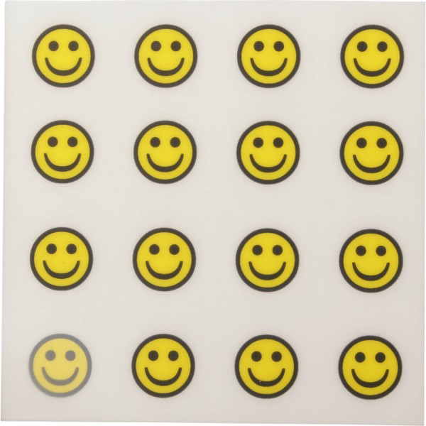 Golfdotz Ball-Tattoo Happy Smileys