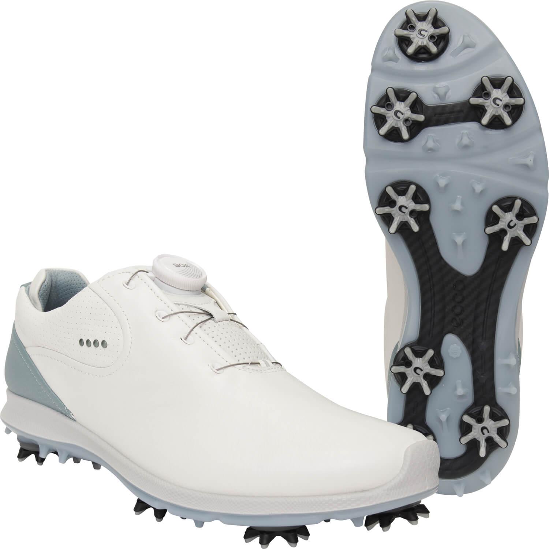 ecco Golfschuhe Golf Biom G 2 BOA, GORE TEX, weißhellblau hier günstig kaufen | all4golf