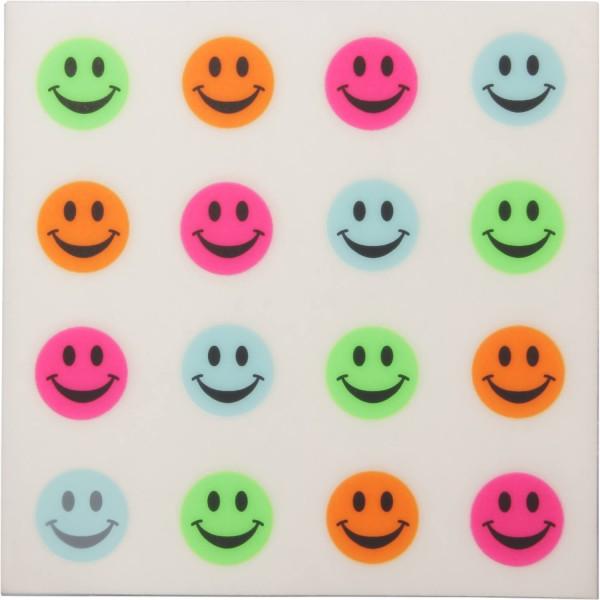 Golfdotz Ball-Tattoo Happy Smileys Bunt