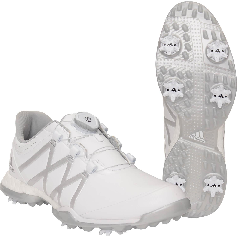 adidas Golfschuhe adipower boost Boa, weißsilber hier günstig kaufen | all4golf