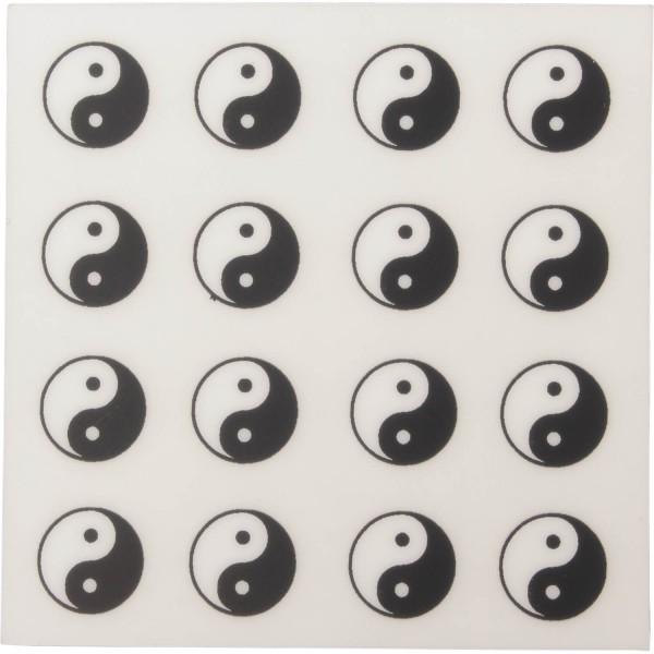 Golfdotz Ball-Tattoo Yin & Yang