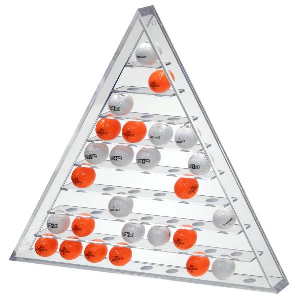 Ballregal Pyramide