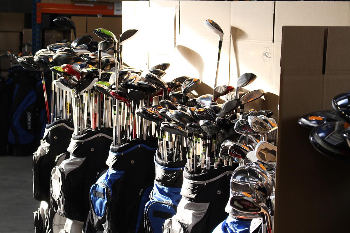 Lagerverkauf Golfschläger