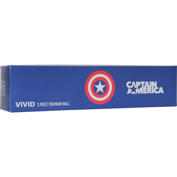 Volvik Motivbälle Geschenkset Marvel Captain America